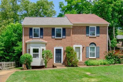 Nashville Single Family Home For Sale: 1021 Hammack Court