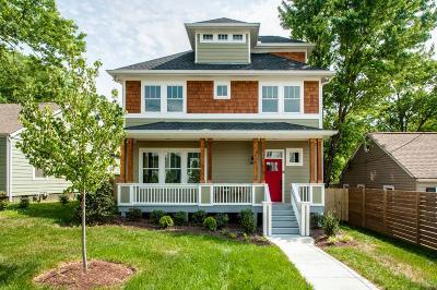 Nashville Single Family Home For Sale: 1602 Eastside Ave