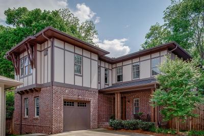 Nashville Single Family Home Active - Showing: 185 B Kenner Avenue