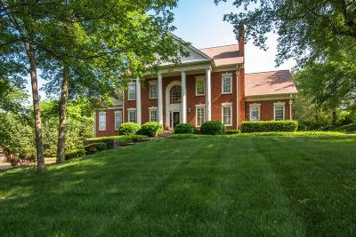 Brentwood, Fairview, Franklin, Nashville, Spring Hill, Thompson's Station, Thompsons Station Single Family Home For Sale: 9124 Brentmeade Blvd