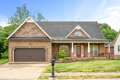 Clarksville Single Family Home For Sale: 1659 Raven Rd