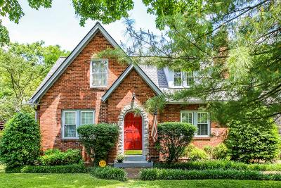 Nashville Single Family Home Active - Showing: 2014 Sweetbriar Ave