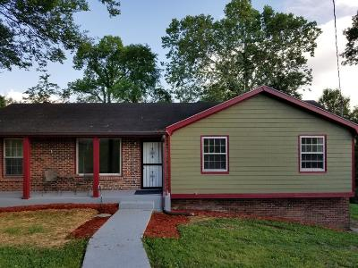 Nashville Single Family Home For Sale: 137 Hodge Ct