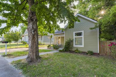 Nashville Single Family Home For Sale: 712 N 2nd St