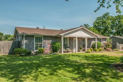Nashville Single Family Home For Sale: 6632 Cabot Drive