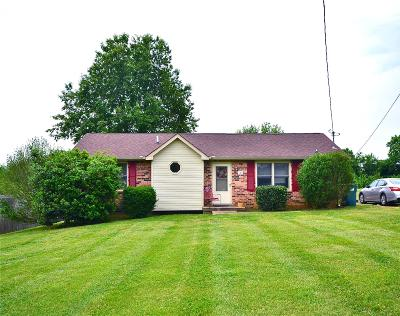 Clarksville Single Family Home Under Contract - Showing: 780 Pollard Rd