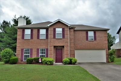 Spring Hill  Single Family Home Under Contract - Showing: 4004 Arnst Way