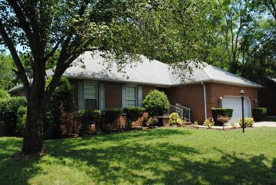 Murfreesboro Single Family Home For Sale: 2426 Windemere Dr
