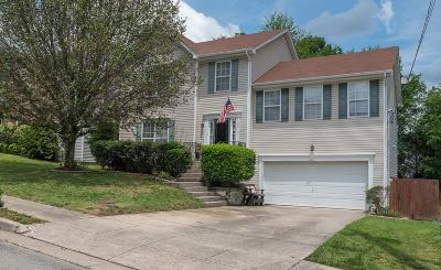 Davidson County Single Family Home For Sale: 3419 Cainbrook Xing