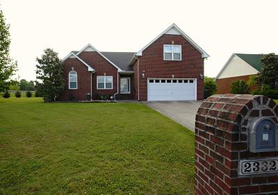 Murfreesboro Single Family Home For Sale: 2332 Jamie Cir.