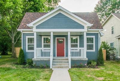 Nashville Single Family Home For Sale: 1713 21st Ave N