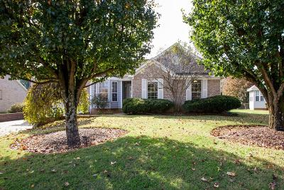 Spring Hill Single Family Home Under Contract - Showing: 1653 Witt Hill Dr