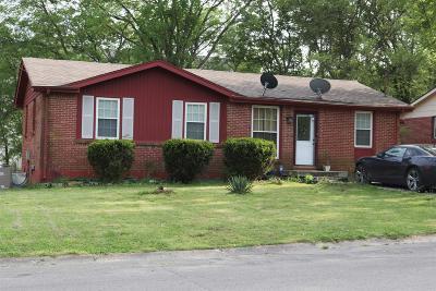 Ashland City Single Family Home For Sale: 193 Becklea Dr