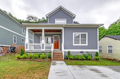 Nashville Single Family Home For Sale: 1209 Montgomery Ave