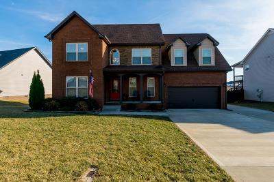 Clarksville Single Family Home For Sale: 1332 Canyon Pl
