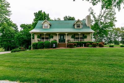Springfield Single Family Home For Sale: 4570 Barren Plains Rd