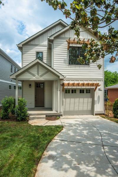 Nashville Single Family Home For Sale: 6123 B Henry Ford Dr