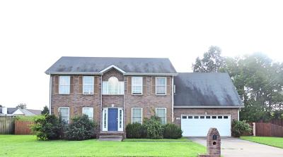 Clarksville Single Family Home Active - Showing: 1244 Gatsby Ct