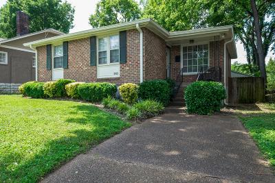 Nashville Single Family Home Active - Showing: 2105 18th Ave S