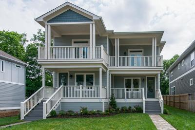 Nashville Single Family Home For Sale: 1924 A 14th Ave N
