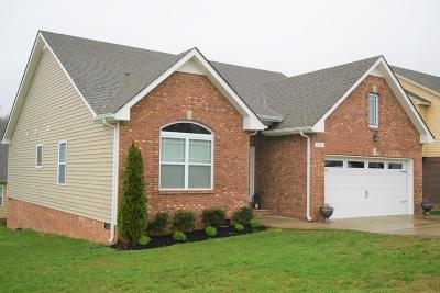 Clarksville Single Family Home Under Contract - Showing: 1016 Orchard Hills Dr