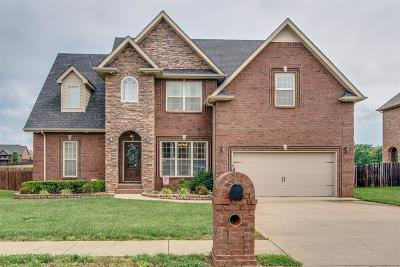 Clarksville Single Family Home Active - Showing: 309 Retriever Ct