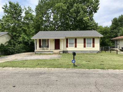 Nashville TN Single Family Home For Sale: $174,900