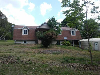 Christian County, Ky, Todd County, Ky, Montgomery County Single Family Home For Sale: 921 Indian Creek Rd