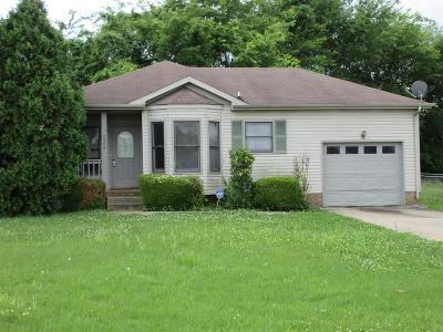 Clarksville Single Family Home Active - Showing: 2406 Peachers Mill Rd