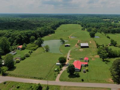 McEwen Single Family Home Under Contract - Not Showing: 1357 Indian Creek Rd
