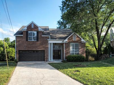 Hendersonville Single Family Home Under Contract - Showing: 108 Sugar Maple S