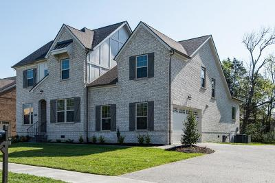 Williamson County Single Family Home For Sale: 841 Nolenmeade Pl Lot 18