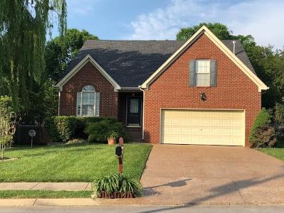 Mount Juliet Single Family Home Active - Showing: 1651 Eagle Trace