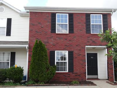 Lavergne Condo/Townhouse Under Contract - Not Showing: 964 Evie Ann Lane