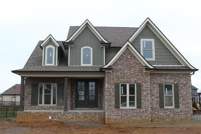 Murfreesboro Single Family Home Active - Showing: 4017 Merryman Lane (Lot 87)