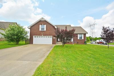 Clarksville Single Family Home Active - Showing: 3740 Wheatfield Ln