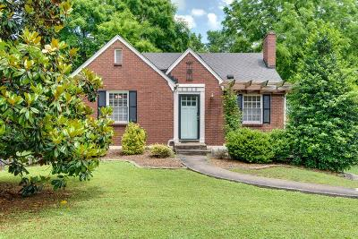 Nashville Single Family Home Active - Showing: 1013 Iverson Ave