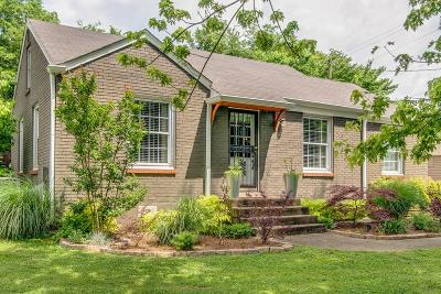 Nashville Single Family Home Active - Showing: 702 Groves Park Rd