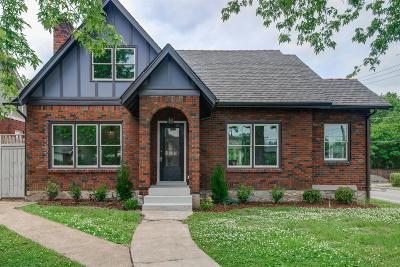 Nashville Single Family Home Active - Showing: 1400 Calvin Ave