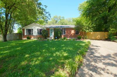 Hendersonville Single Family Home Under Contract - Showing: 119 Keystone Ln