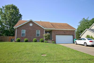 Clarksville Single Family Home Active - Showing: 422 Cyprus Ct