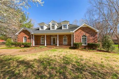Kingston Springs Single Family Home Under Contract - Showing: 467 Harpeth Meadows Dr