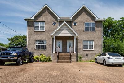 Nashville Multi Family Home Active - Showing: 325 Wimpole Dr
