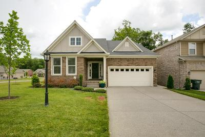 Mount Juliet Single Family Home Under Contract - Showing: 2873 Lakeside Meadows Cir