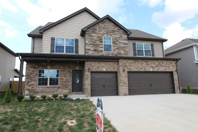 Clarksville Single Family Home Under Contract - Showing: 124 Summerfield