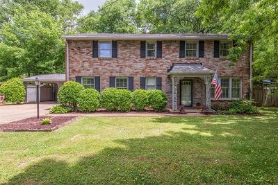 Nashville Single Family Home Active - Showing: 4832 Briarwood Dr
