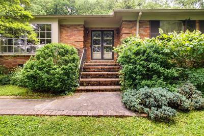 Single Family Home For Sale: 5106 Hillsboro Pike