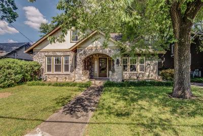 Nashville Single Family Home Active - Showing: 410 Greenway Ave