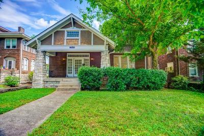 Nashville Single Family Home Active - Showing: 1704 Blair Blvd