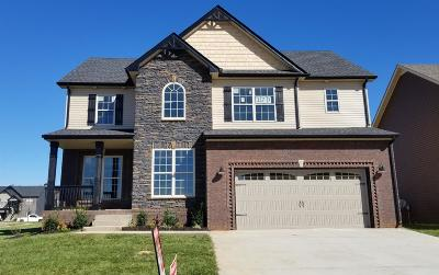Clarksville Single Family Home Under Contract - Showing: 170 Locust Run